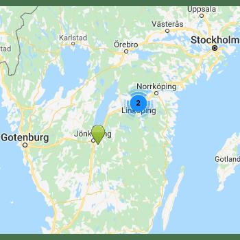 Återförsäljare från Walker i Sverige